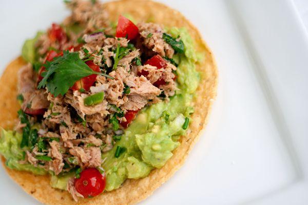 TASTY TRIX: Tostadas de Atun (Tuna Tostadas), an UnRecipe Recipe