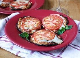 Mini Cauliflower Pizza Crusts