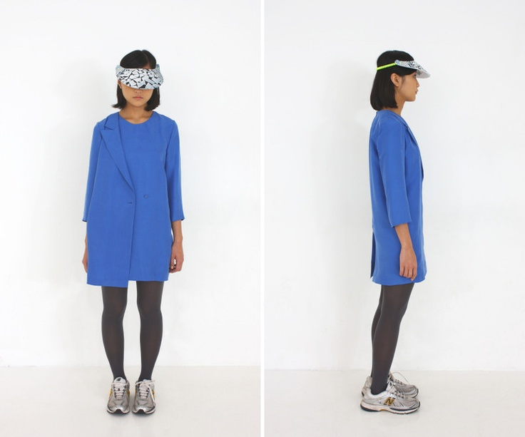 al,thing - Blue silk onepiece