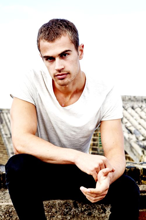 Theo James.just stop being so damn handsome!