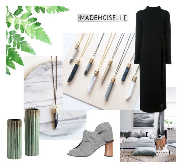 """Marbling Around with Balilla"" by kissthecrownedfrog on Polyvore featuring Nanushka and Proenza Schouler"