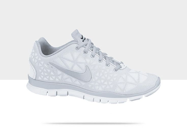 White Nike Free TR III Women's Training Shoe; These would be so nice for  clinical