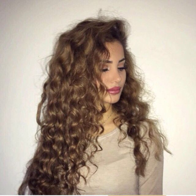how to get permanent curly hair without a perm