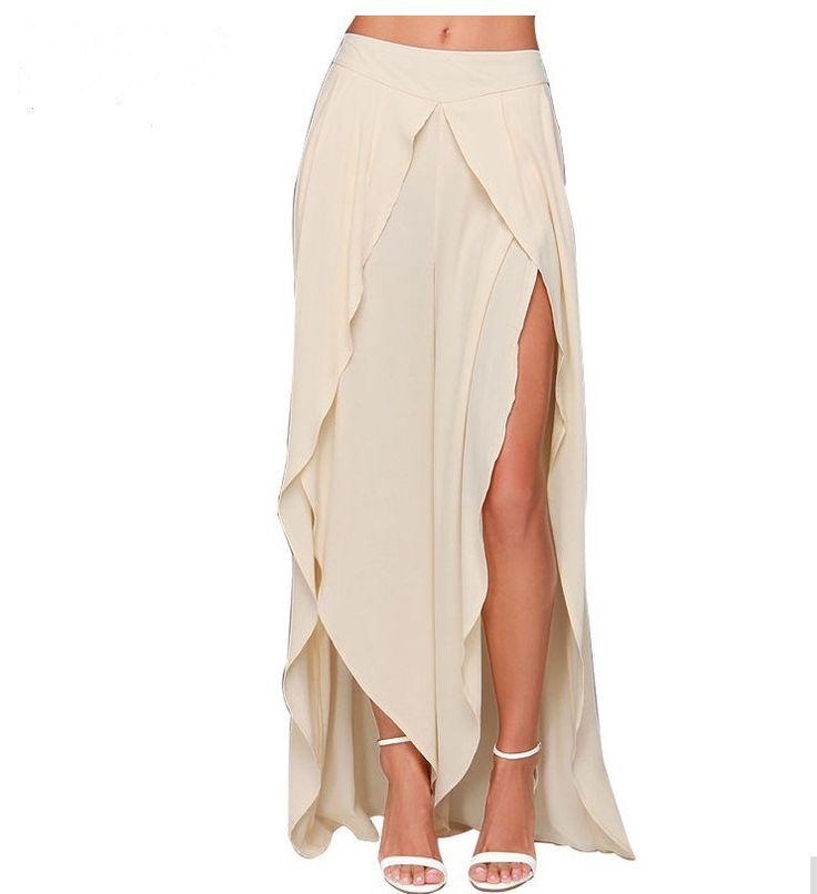 Cheap Mujeres Faldas 2015 del estilo del verano gasa falda larga moda blanco asimétrico de la falda Jupe Femme Faldas Largas, Compro Calidad Faldas directamente de los surtidores de China:                         Otro más barato camiseta para el partido: