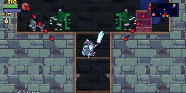 Rogue Legacy the descendent of Dark Souls 2D -  Rogue Legacy follows generations of obsessive adventurers as they pit themselves against the monsters that inhabit huge castles. When a hero is inevitably slain, a descendent