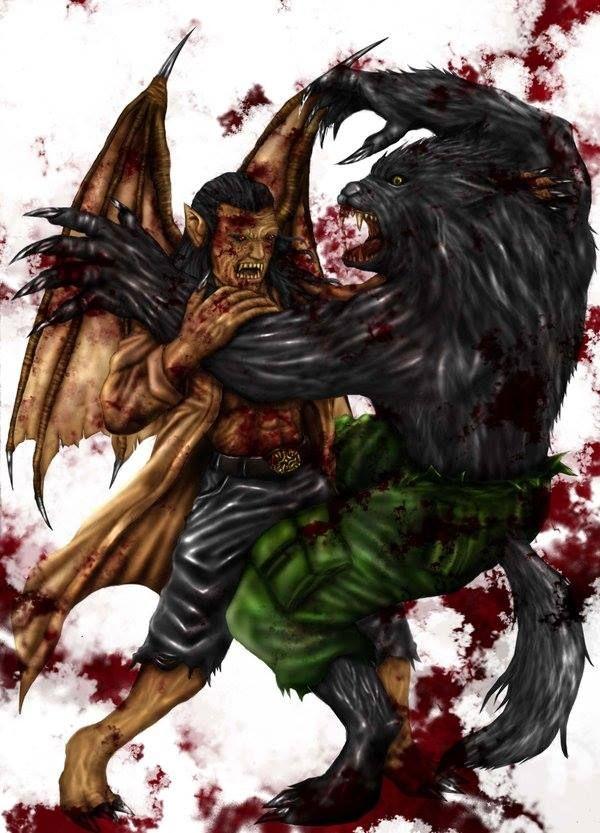 29 best Vampire vs Werewolf images on Pinterest   Vampires ...
