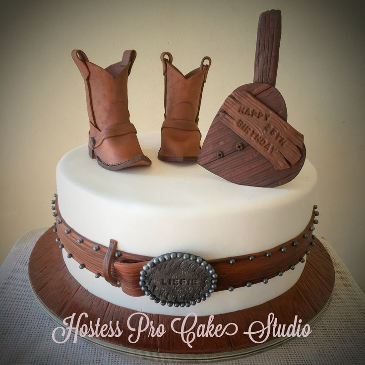 Cowboy Cake Www.hostesspro.co.za