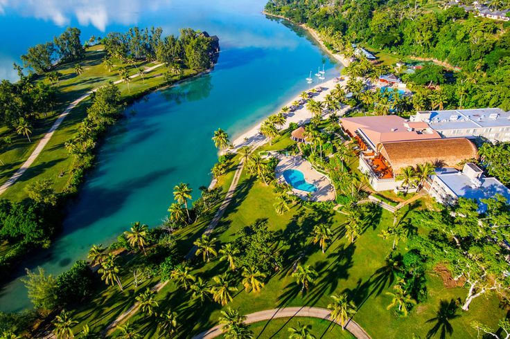 Vanuatu for families ... what a deal!    HOLIDAY INN RESORT VANUATU  5 Nights flying Air Vanuatu  On sale from $3649* per family ... yup, that's 2 Adults + 2 Kids U12 years!    Your Bonus....  -Includes buffet breakfast daily  -Pay $199per adult for 2 extra nights & receive a VT20,000 Resort Credit p/room p/stay  -Includes a voucher book with over NZD$1600 of exclusive offers    Your Inclusions....    -5 nights in a Garden View Room  -Return airport coach transfers  -Return Air Vanuatu…