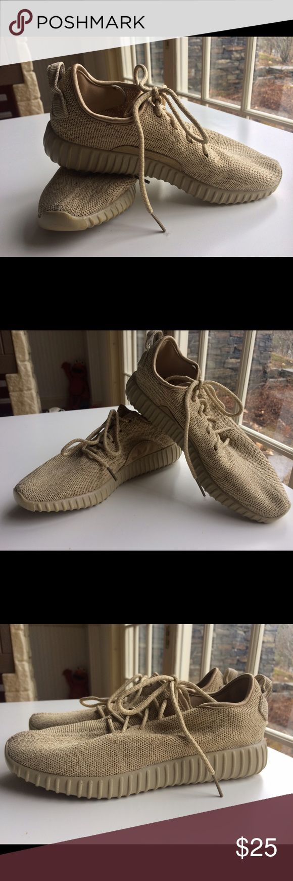 Adidas Yeezy Boost Sneakers Not original Adidas Yeezy Boost inspired by Kanye West. Look like original! The size 7 runs big. Worn once, very comfy in very good condition. Adidas Shoes Sneakers