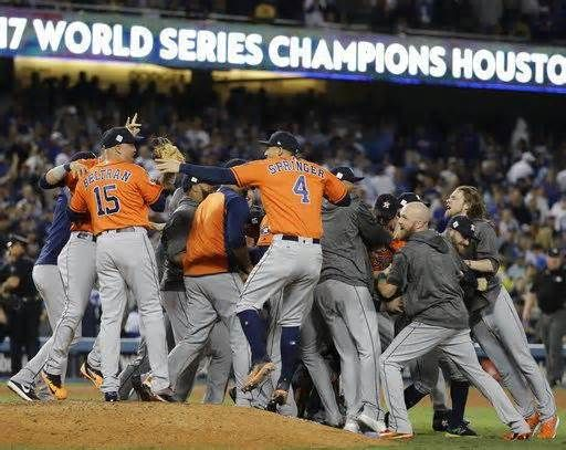 Next year already in Astros' sights HOUSTON • It's not just one World Series title that has Houston excited. With Jose Altuve, Carlos Correa, George Springer and more locked in for years to come, the Astros are ready to be a force for some time. Houston's plan to endure a difficult ...