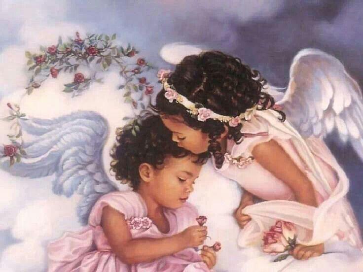 центре ангелочек поцелуй картинки это