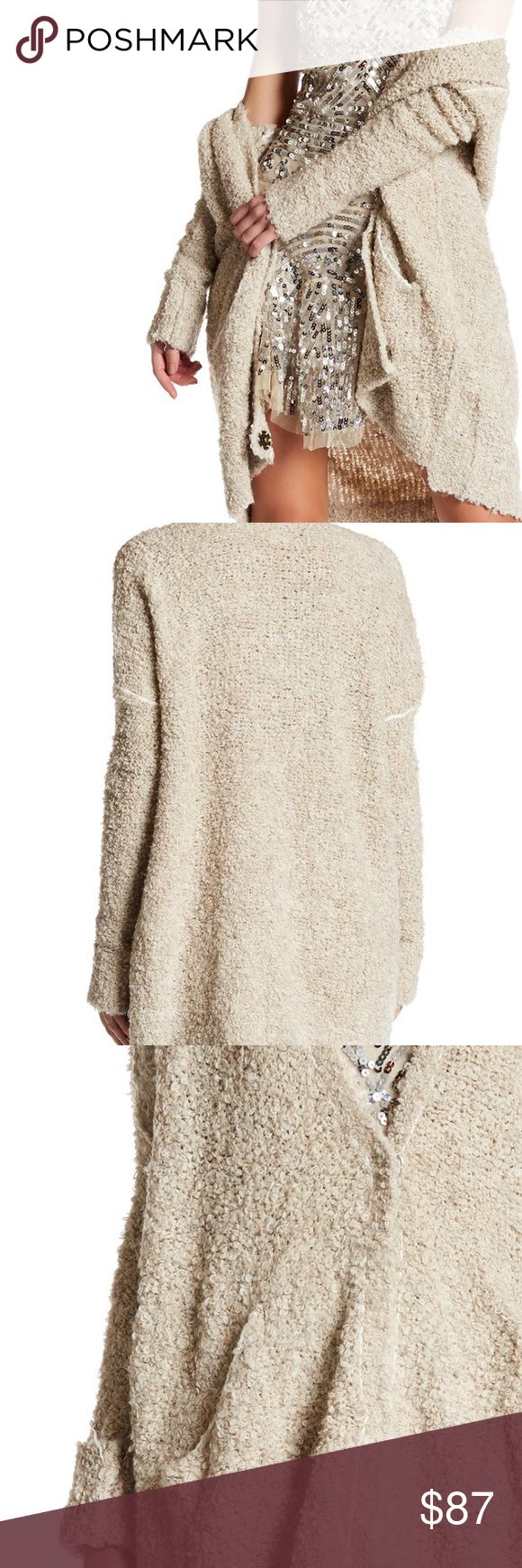 💗NWT Free People Long Knit Cardigan Super soft and cozy! Free People Sweaters Cardigans