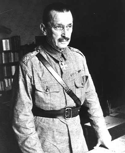 """Finnish Field Marshal Mannerheim, 1941. Finland was a """"friendly combatant"""" with Nazi Germany. The Fins fought the Russians to the very end."""