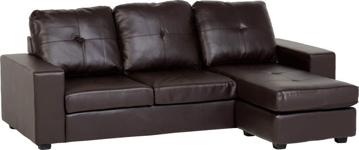 """""""The #Benson #CornerSofa comes in a chocolate brown color, perfect for any #Modern #LivingArea. Now on #BigLivingUK http://www.bigliving.co.uk/furniture/living-room/two-seater-grey-sofa/benson-corner-sofa-brown.html"""""""