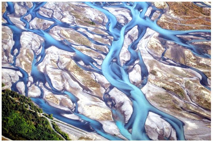 Best Braided River Wallpaper