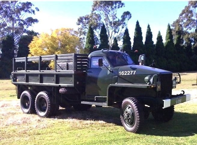 1945 Studebaker Reo 6x6 Troop Carrier Australia Classic