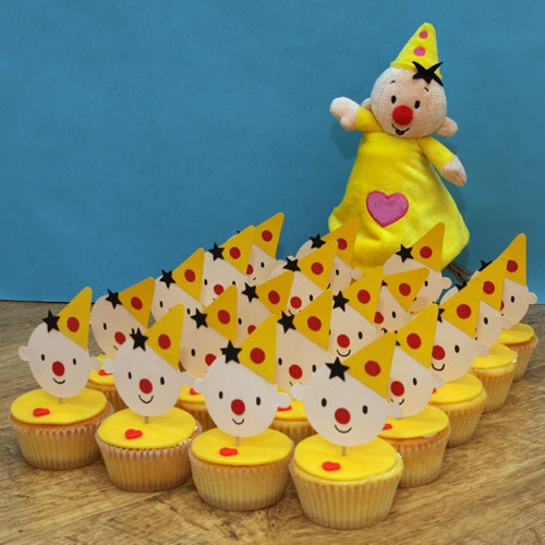 bumba inspired cupcakes