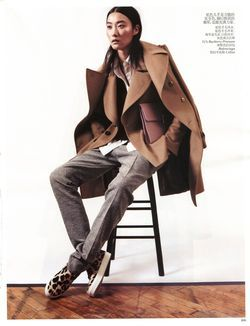 Masculine Impression, VOGUE China, January 2013
