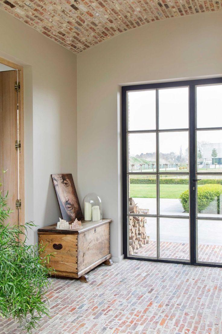 Prachtig gewelfd plafond van oude metselstenen | Hergebruik oude bouwmaterialen | Kersbergen.nl