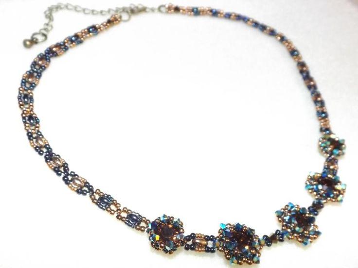 Date Night - Jill Wiseman Pattern - Jewelry creation by Sharon