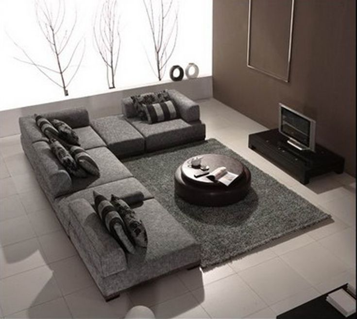 laflat f zh s011 modern sectional sofa 280000 living room