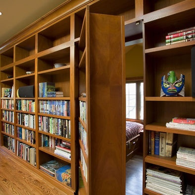 79 best images about hidden doors on pinterest hidden for Secret storage bookcase