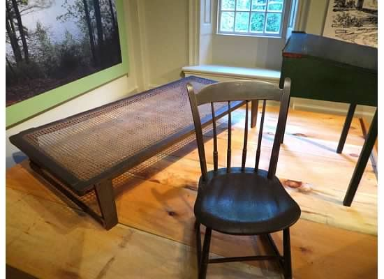 Great Museum: Henry David Thoreauu0027s Furniture From His Cabin At Walden