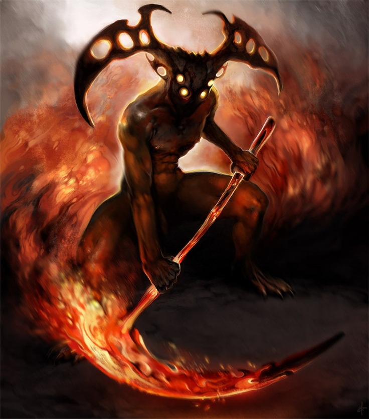 Fire Demon - Picanese image 4403 | FIRE | Pinterest | Fire ...