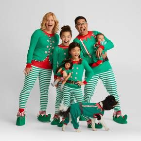 c066a5f93c Bring holiday cheer to your home with the Elf Family Pajamas Collection  from Wondershop™. These adorable elf pajamas will bring a smile to the face  of every ...