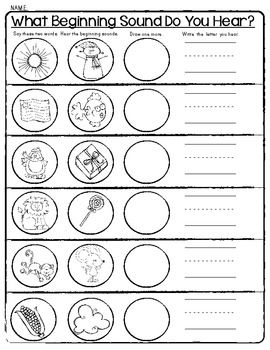 Worksheets Phonemic Awareness Worksheets For Kindergarten 92 best images about phonemic awareness on pinterest activities sensational sounds worksheets beginning middle ending awareness