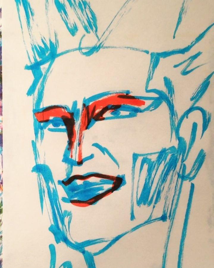 いいね!32件、コメント1件 ― @1mindrawのInstagramアカウント: 「#hisexcellencydemon #デーモン閣下 #デーモン小暮 #musician #ミュージシャン #seikima_II #聖飢魔II #BC980381110 #100055歳…」