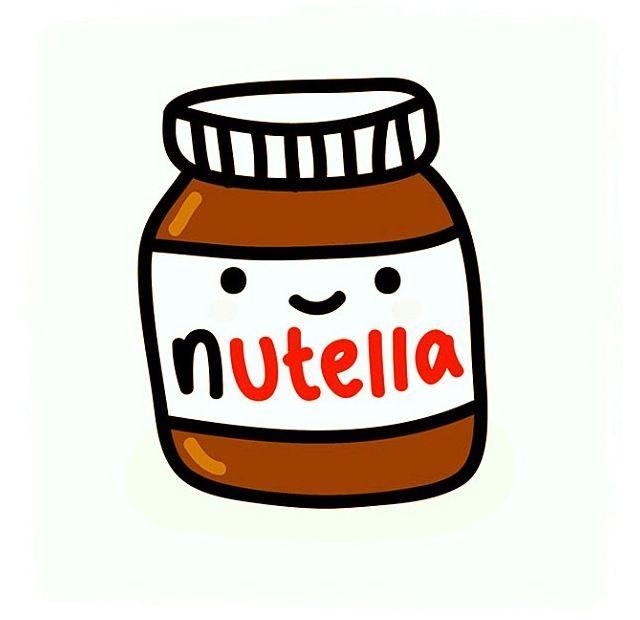 Lol cute Nutella jar