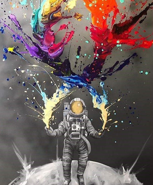 Space Art In 2019 Graffiti Wallpaper Graffiti Art Space