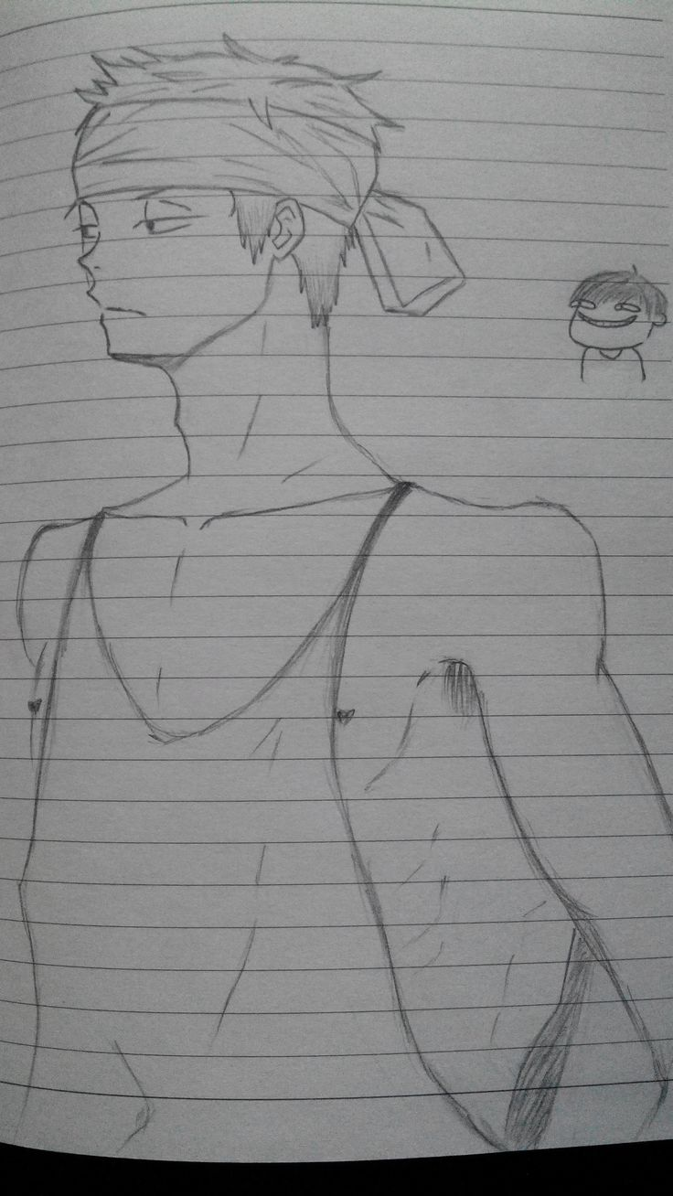 #drawing #boy   body is still quite not good at drawing