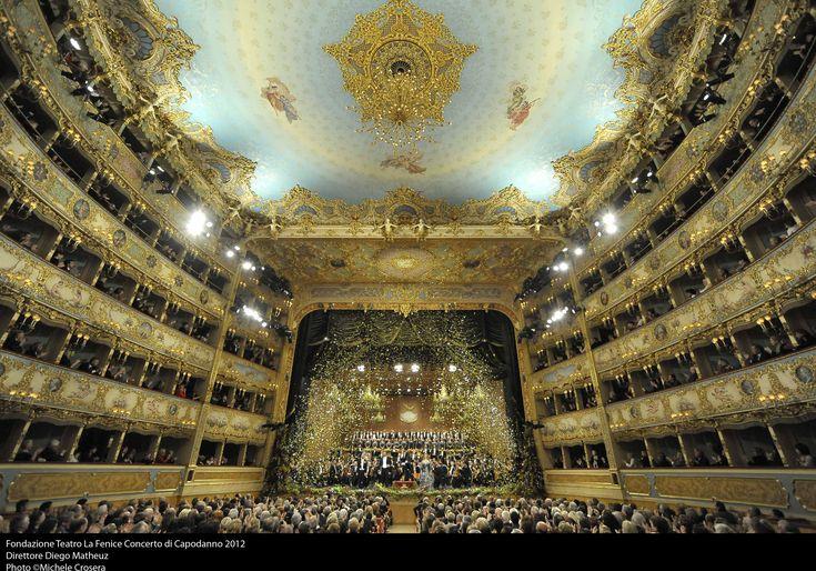 La Fenice Opera house. Venice