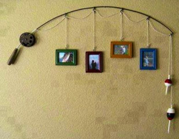 Redneck Wall Decor : Best ideas about fishing pole decor on