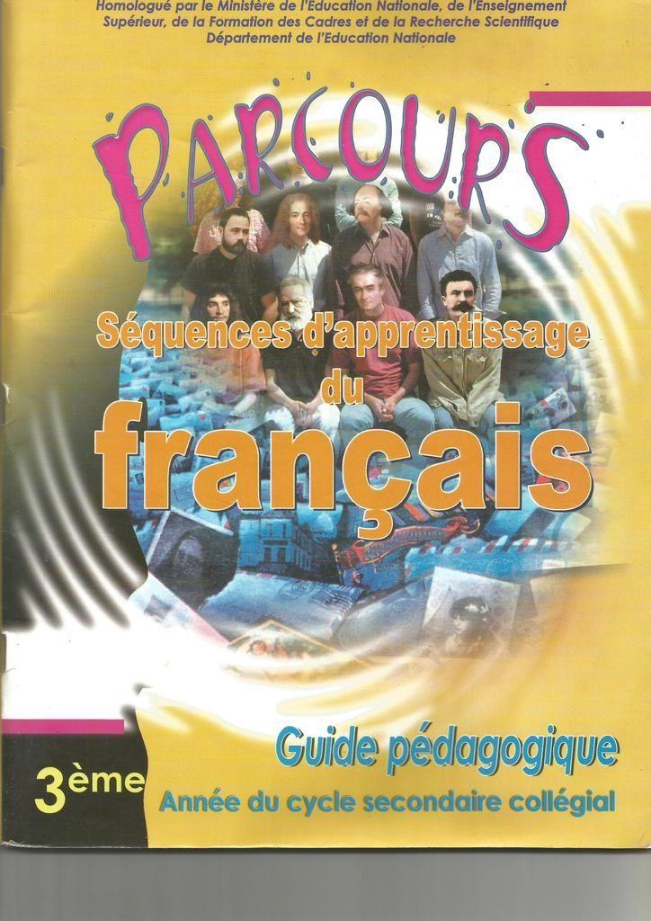 Guide Du Professeur Parcours 3eme Annee College