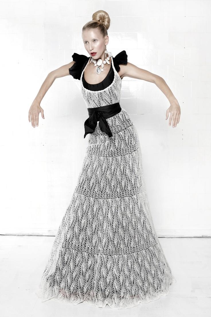 lace dress by Kristina Viirpalu