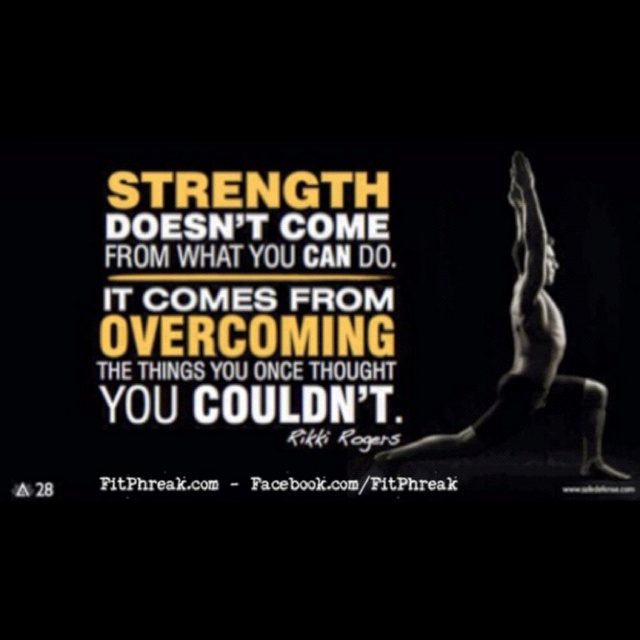 Strength - Motivation www.FITPHREAK.com #crossfit #eatclean #nutrition #food #muscle #workout #workingout #running #swag #health #healthy #crossfitgirls #wod #wods #fit #fitness #paleo #fitchicks #fitchick #strong #motivation #gym #exercise #traindirty #weightlifting #beast #beastmode #love #instagood #rx