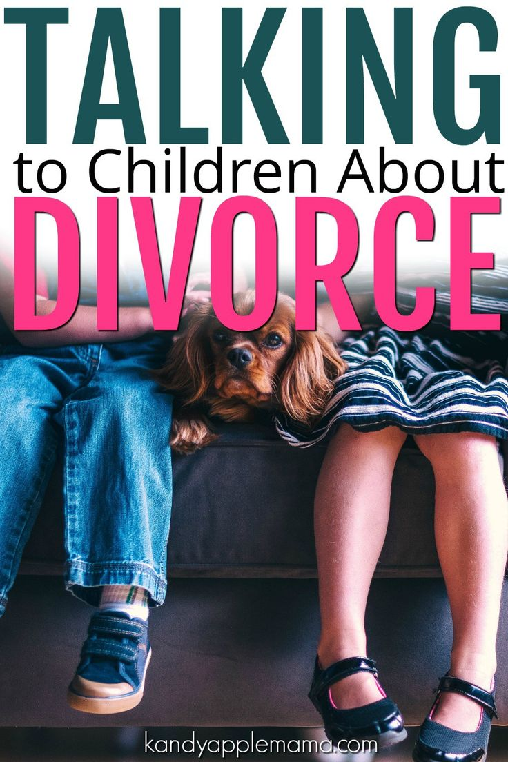 Divorce with Kids | Divorced Parents | Discussing Divorce with Children | Talking about Divorce | Co-Parenting | Questions about Divorce | Kandy Apple Mama