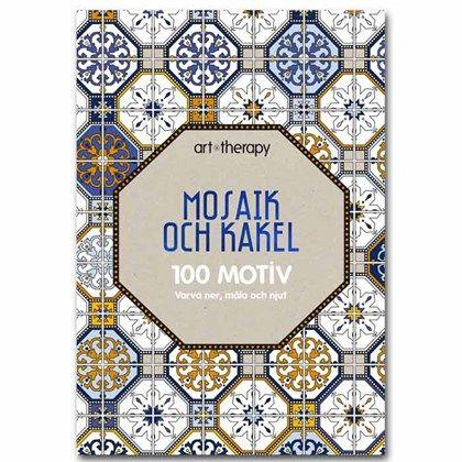 Målarbok Mosaik och kakel