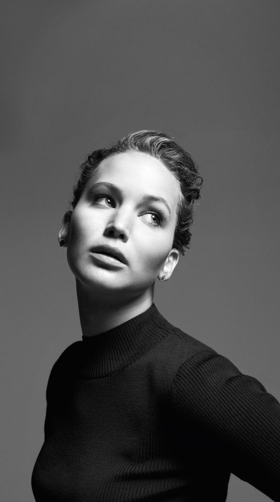 Mark Seliger photographsthe covers of Time's 100 most influential people, Apr/May 2013.Jennifer Lawrence.