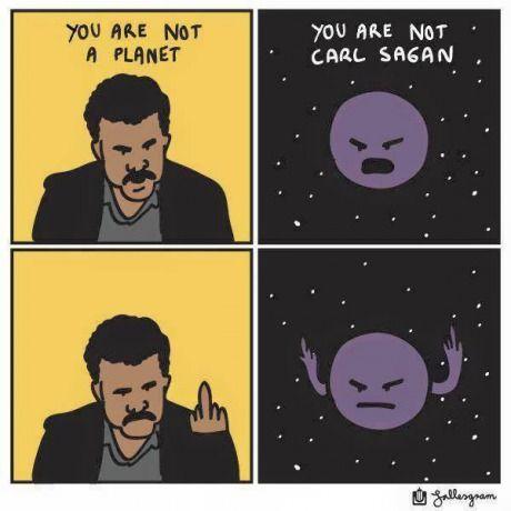 Neil Degrasse Tyson vs Pluto