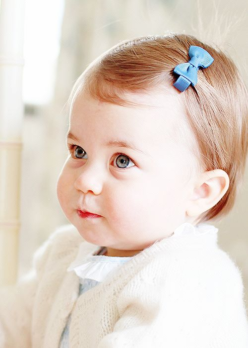 "Princess Charlotte Elizabeth Diana Mountbatten Windsor; daughter of Prince William, Duke of Cambridge and Duchess Katherine ""Kate"" of Cambridge"