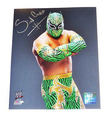 WWE SIN CARA SIGNED 8X10 PHOTO FILE PHOTO W/ EXACT PROOF 4