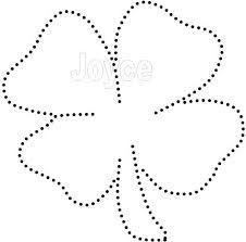Afbeeldingsresultaat voor klavertje vier silhouet
