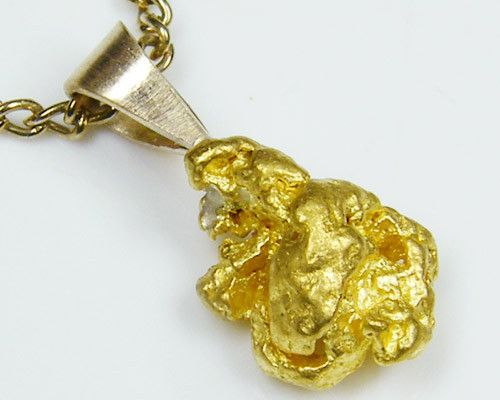AUSSIE GOLD NUGGET PENDANT  1.72 GRAMS LGN 823 gold nugget, australian gold nuggets, natural gold, aluvial gold nuggets, quartz gold nuggets, gold nugget pendant