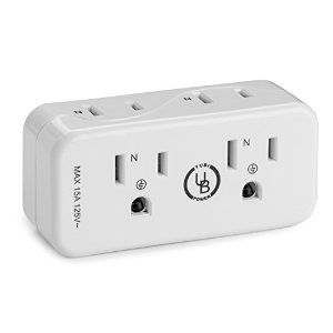 Amazon.com: Yubi Power FSTRVLMINICH 2 Outlet Mini Travel Wall Charger/Multi Interface Socket: Electronics