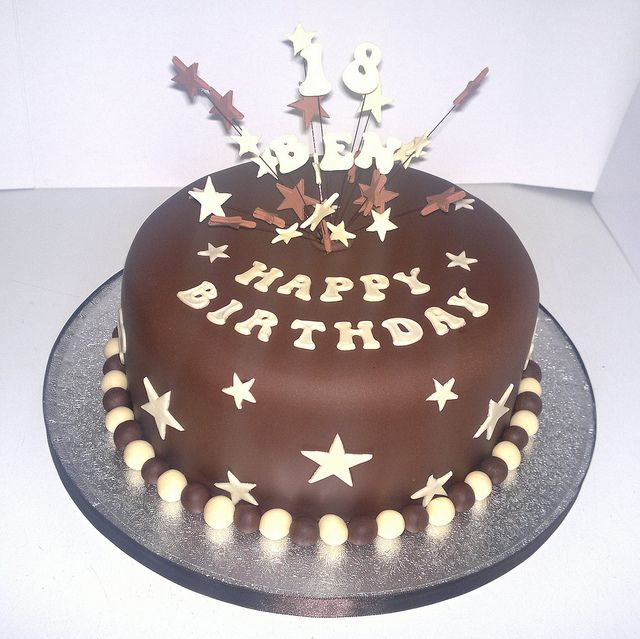Cake Designs Birthday 2018 : Chocolate 18th Birthday Cake Birthday cakes, Cake and ...