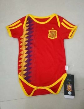 dd3109bd6ed 2018 World Cup Infant Jersey Spain Home Replica Football Shirt  BFC955